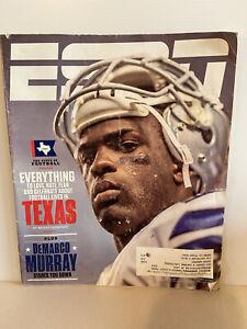 ESPN Magazine Dallas Cowboys DeMarco Murray (November 24th 2014)