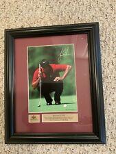 Tiger Woods Nike Inspirations Upper Deck Framed Photo 8x10