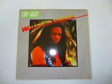 "Eddy Grant - Walking On Sunshine 12"" LP ORIG GERMAN 1983 ICE Records REGGAE EX-"