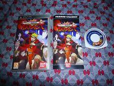 Naruto Shippuden Ultimate Ninja Impact PSP (Russian release, English game)