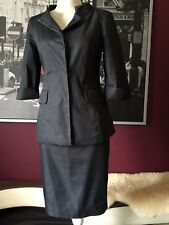 JENNE MAAG Women's Skirt Suit Dark Grey  Size XP Pre- owned