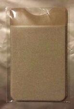 Elastic Lycra Mobile Phone Wallet Credit Card Holder Stick On. ( Fast Delivery)