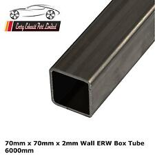 acier mi-dur Erw Boîte 70mm x 70mm x 2.0mm, 6000mm long, tube carré