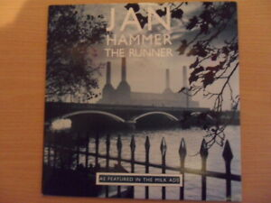 "JAN HAMMER  THE RUNNER  7"" VINYL"