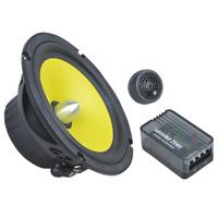 "Ground Zero Titanium GZTC 165.2X 6.5"" 16.5cm 2 way car component speakers 100w"