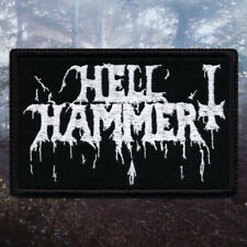 Hellhammer | Embroidered Patch | Switzerland | Speed / Thrash / Black Metal
