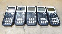 Lot of 5 Texas Instruments TI-84 Plus Yellow Graphing Calculators Parts/Repair