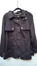 Dennis Basso black coat / size 1X