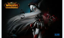 Elegant queen of the undead silva, world of warcraft mouse pad