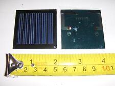 3V x 70 mA. Mini Solar Panel   epoxy encapsulated virtually indestructible .2W