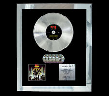 KISS LOVE GUN  MULTI (GOLD) CD PLATINUM DISC FREE POSTAGE!!