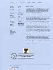 #4128b (44c) Forever Lib. Bell USPS #0922 Souvenir Page