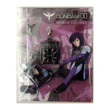 Gundam 00 Screen Wiper Phone Strap Set Tieria NEW