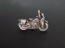 Chopper, Cruiser Motorcycle Metal Badge Pin Harley Kawasaki Yamaha Honda Suzuki