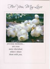 """Greeting Card - Love You - """"FOR YOU, MY LOVE"""" - by Geon & Caring Moments!"""