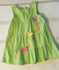 Gymboree Toddler Girls Butterfly Blossoms Summer Dress Size 2T