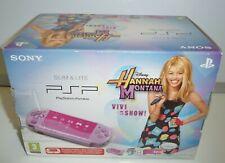 Console PSP Slim Hannah Montana Lilac Limited psp-3004 xzl NEW PAL RARE