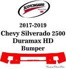 3M Scotchgard Paint Protection Film 2017 2018 2019 Chevy Silverado 2500 Duramax
