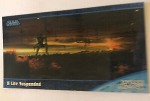 Empire Strikes Back Widevision Trading Card 1997 #48 A Life Suspended Skywalker