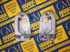 1954-1960 GM Door Strikers. Buick Cadillac Chevrolet Oldsmobile Pontiac. Pair