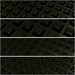 SQUARE BUMPONS RUBBER FEET SELF ADHESIVE 4 SIZES UK STOCK FREE POSTAGE