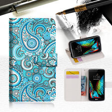 Seamless pattern with paisle Wallet Case Cover For ZTE AXON mini --A022
