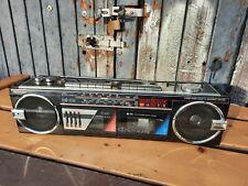 Hübsche Stereo Radio Kassetten Recorder Ghettoblaster Boombox WQ 562H, Vintage