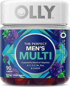 The Perfect Mens Multi Gummy by OLLY, 90 count