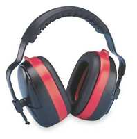 Elvex Hb-35 Ear Muff,28Db,Multi-Position,Black/Red