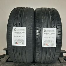 Pneumatici Usati 225/45 R17 91V Bridgestone T001 - 60% +5mm - Gomme Estive
