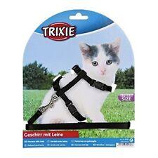 Trixie Set Collier Harnais pour Chatons et chats plomb