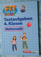 Schulbuch Mathematik 4. Klasse Fit für die Schule Textaufgaben ISBN 3788612754