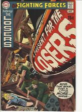 Our Fighting Forces #127 Losers Kubert Silver Age DC