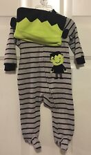 NWT Carter's Baby Boy's Clothing Romper Outfit One-Piece Costume 3 Months Hat