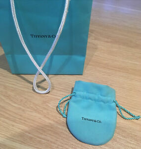 Tiffany & Co.  Blue Faux Suede Drawstring Jewelry Pouch + Small Bag