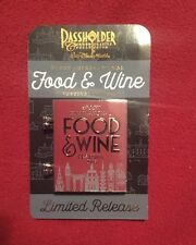 Limited 2016 Disney Passholder Epcot Food & Wine Festival Figment Spinner Pin