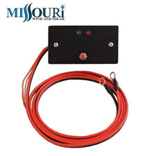 24 Volt 40 Amp Wind and Solar Charge Controller Regulator in Steel Gang Box
