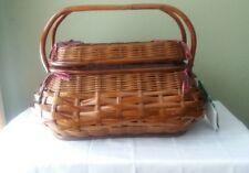 Highlander Picnic Basket Set Perfect for four Picnic Time
