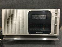 Vintage Retro PANASONIC RC-205 Alarm Clock Radio Made In Japan