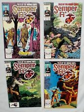 SEMPER FI' (Tales of The Marine Corps) Issue #1, 2, 3, 5, ~ 1988 - MARVEL COMICS