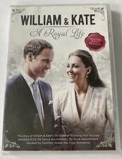 William Kate: A Royal Life (DVD, 2013) Prince William and Kate Middleton NEW