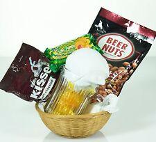 Beer Mug Gift Basket with Candy, Socks, Beer Nuts & Hershey Kisses