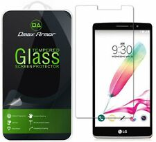 Dmax Armor for LG G Stylo Tempered Glass Screen Protector Saver Shield