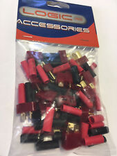 Logic Rc Deans Connector Set with Heat Shrink 10 pairs