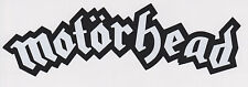 "Motorhead - Large Permanent Vinyl Decal - 9"" x 2 3/4"""
