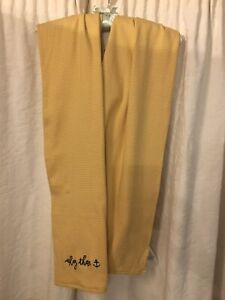 Joules Nautical Scarf Yellow And White Striped