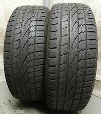 2 x CONTINENTAL 225/55 R18 98V 5 mm DOT1311 Cross Contact UHP Sommerreifen TOP
