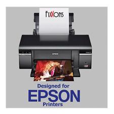 """Premium Luster Inkjet Photo Paper For Epson 8.5""""x11"""" 50 Sheet"""