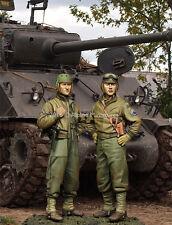 ALPINE MINIATURES 35219 US 3rd Armored Div. Crew Set (2 Figuren) in 1:35