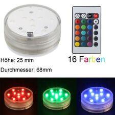Shisha LED-Licht Unterwasserbeleuchtung mit Fernbedienung mit 16 Farben